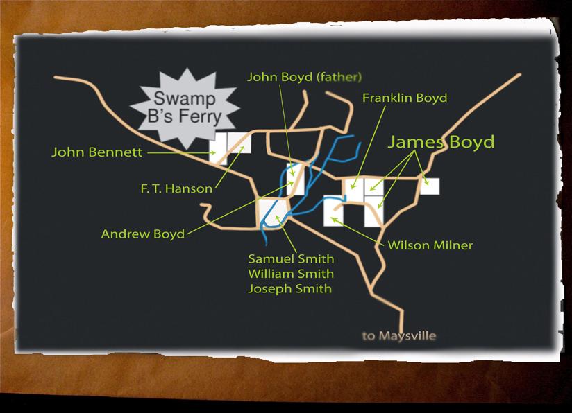 James Boyd Neighborhood graphic