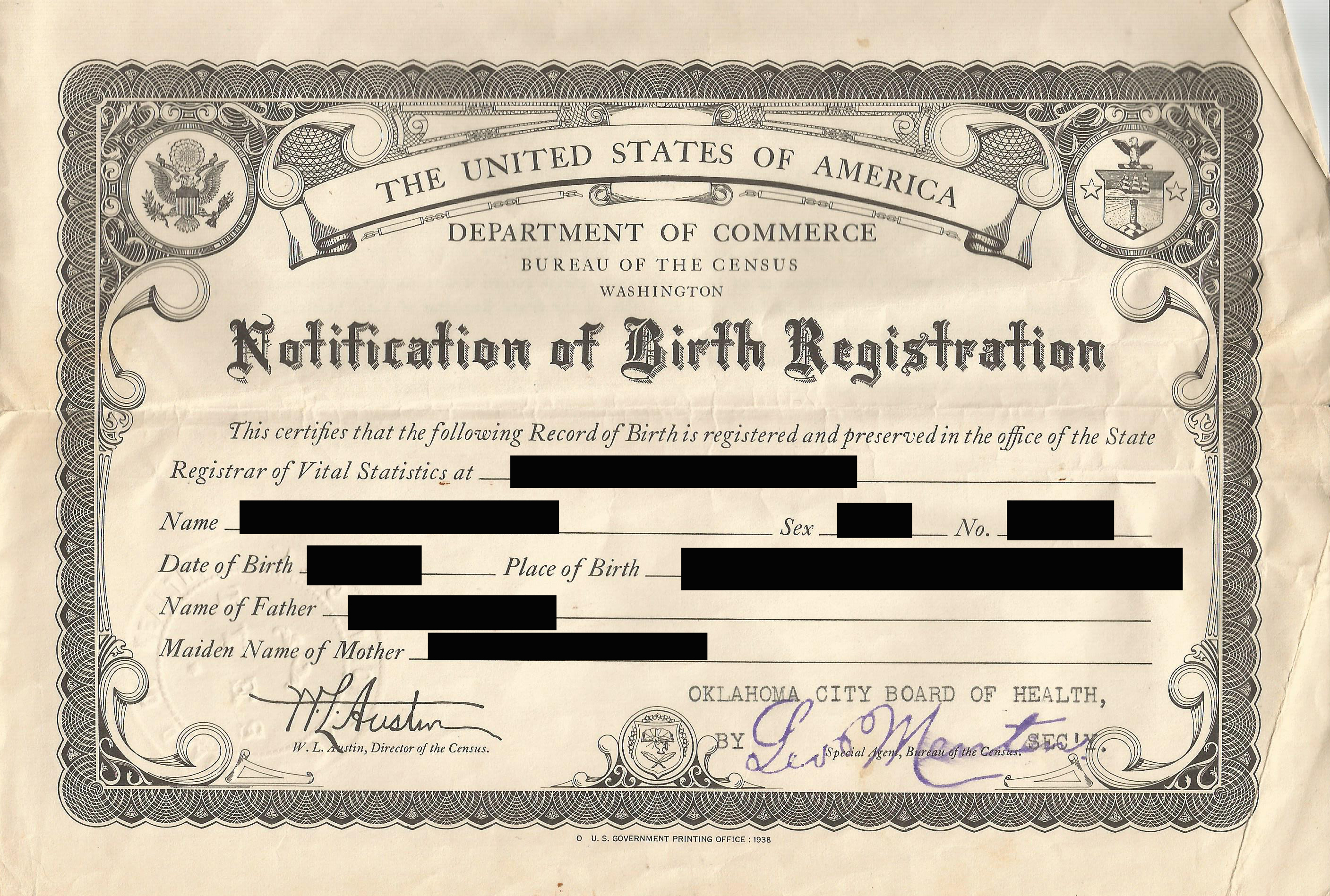 Evidence explained how to cite a birth certificate that isnt what to call this document how to cite it aiddatafo Choice Image